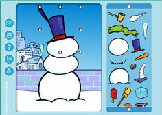 technology rocks. seriously.: Snow Snow Snow Fun! resources for kids