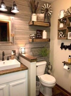 Rustic interiors are a standard of comfort and coziness. This is a style that best suits the bedroom, given its function and nature. It's easy to see why a rustic bedroom would feel incredibly…MoreMore #bathroomremodeling