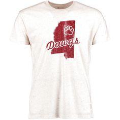 Mississippi State Bulldogs Original Retro Brand Vintage Tri-Blend T-Shirt - Natural - $23.99