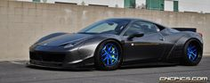 This Ferrari 458 Italia already strikes out as being unique and unmistakably having passed through the hands of Japanese tuner Liberty Walk Performance.
