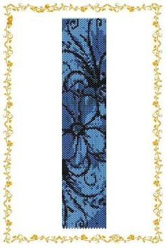 "flower+Peyote+Stitch+Designs   Peyote beading pattern Bracelet cuff ""Flower"". Instant Download ... by araceli"