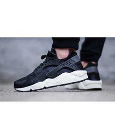 Chaussure Homme Nike Air Huarache Stingray Noir Blanche