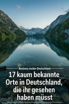 17 kaum bekannte Orte in Deutschland, die ihr gesehen haben müsst Germany has many great sights and places that tourists are not on the travel plan. Cool Places To Visit, Places To Travel, Travel Destinations, Travel Tips, Travel Plan, Camping Ideas For Couples, Camping Tips, Camping Outdoors, Koh Lanta Thailand