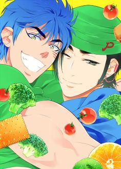 Toriko ~~ Toriko & Coco Life Humor, All Art, Otaku, Anime Art, Cosplay, Wallpaper, Cute, Guilty Pleasure, Fictional Characters