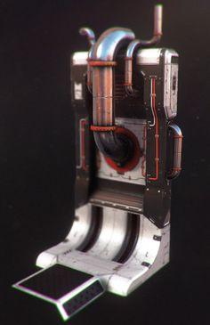 Quixel Suite Sci fi Prop, Sam Drew on ArtStation at http://www.artstation.com/artwork/quixel-suite-sci-fi-prop