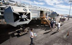 Sci-Fi Spaceships in Modern Settings