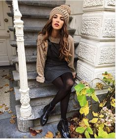 Winter oufit - Look by Negin Mirsalehi https://www.instagram.com/negin_mirsalehi/