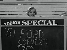"""Marilyn Monroe in """"Monkey Business"""""""
