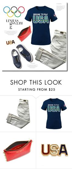 """""""Rio Bound"""" by adduncan ❤ liked on Polyvore featuring Chloé, Pierre Hardy, Allurez, USA and rio"""