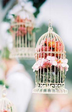 bird cage decor wedding event party