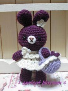 conejita amigurumi en crochet - bunny