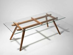 Sticotti Glass Dining Table Cooper