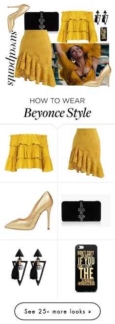 """Women"" by nikol-139 on Polyvore featuring Dsquared2, Chicwish, Sans Souci and Giuseppe Zanotti Beyonce Style, Dsquared2, Giuseppe Zanotti, Rock, Polyvore, How To Wear, Women, Fashion, Stuff Stuff"