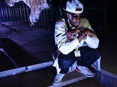 Celebrity Sneaker Watch 2 Chainz in Air Jordan III Fire Red