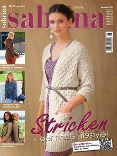 Журналы по вязанию и рукоделию: Sabrina №8 2014