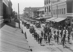 Decoration Day parade, 1916