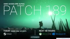 Astroneer update 189 is now available for download