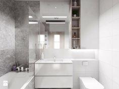 Łazienka, styl minimalistyczny - zdjęcie od PASS architekci