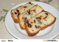Kokosový chlebíček z bílků recept - TopRecepty.cz