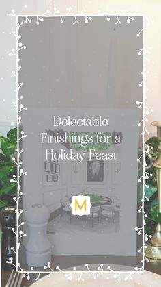 Chrissy Cottrell, of Chrissy & Co., created a festive dining room and we haven't been able to tear our eyes away since! Whatever you're planning for your holiday feast, I think we can all agree that this is the lush backdrop it needs.