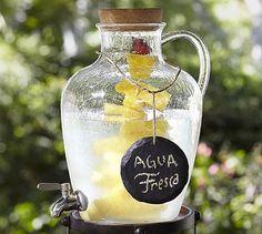 Jug Outdoor Drink Dispenser #potterybarn