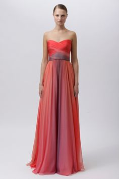 Another potential bridesmaid dress, by Monique Lhuillier.