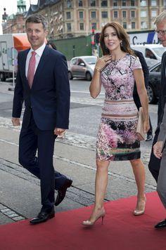 Prins Frederik en prinses Mary