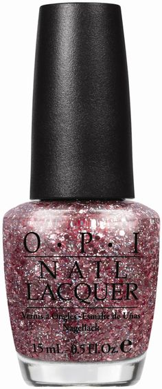 OPI Spotlight on Glitter (Press Release): You Pink Too Much
