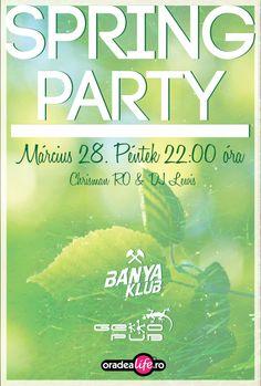 Spring Party a Gekkoban. Spring Party, Dj