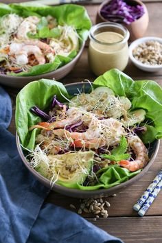 Make Spring rolls a meal with these fresh, vibrant spring roll bowls with sunflower butter sauce – easy-to-prepare, nutritious, and fun, these bowls can be prepared any night of the week. This post is sponsored by SunButter®. Happy St. Patrick's ... :: Food