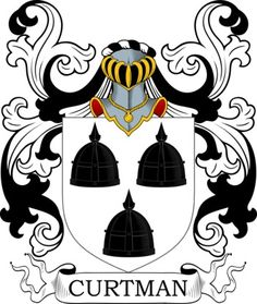 Curtman Family Crest and Coat of Arms