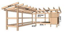 Door Protection, Getaway Cabins, Planter Boxes, Present Day, Outdoor Living, Pergola, Backyard, House, Doors