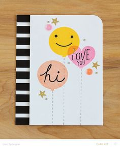 Hi, Love You by Lisa Spangler for Studio Calico