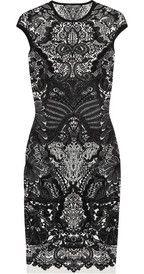 Alexander McQueenWool-blend intarsia dress  love this dress!