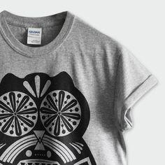 T-Shirt Sugar Owl Gris