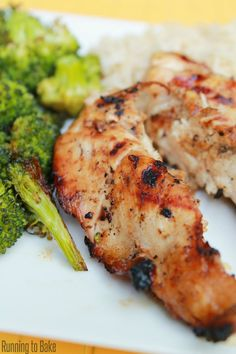 Honey Lime BBQ Chicken {Clean Eating} - so easy and so yummy!