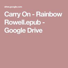 Carry On - Rainbow Rowell.epub - Google Drive