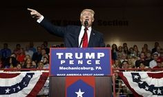 Donald Trump suggests US election will be rigged as he labels Clinton 'the devil'