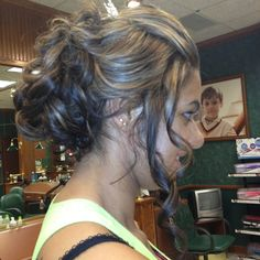 Prom updo from today