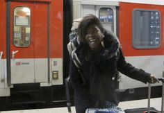 """""""End of Berlin-Paris Sleeper Train Signals Last Call for Europe's Night Trains Associated Press, skift.com Train passenger Marie-Helene from France smiles after arriving at the Berlin main station..."""