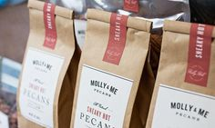 Molly & Me Pecans, founded by Kay Holseberg, offers delicious, high-quality spiced pecans for parties, weddings and more! 12.10.14