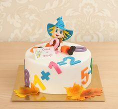 """Детский торт """"Снова в школу""""  Друзья мы еще принимаем заказы на 31 августа и 1 сентября  Незнайка уже готов к школе! И вы еще можете успеть сделать заказ на оригинальный торт #сновавшколу для вашего школьника на #1сентября. Безусловно, это будет не только вкуснейший тортик, но и зарядка для ума, ведь весь тортик оформлен математическими задачками и теперь незнайке очень нужна помощь того кто разгадает все загадки!  Мы с удовольствием изготовим этот затейливый тортик весом от 2 кг стоимостью…"""