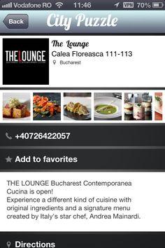 Star Chef, Bucharest, Landing, App, The Originals, Apps