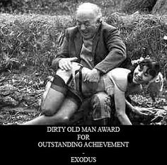 men Dirty and girls old