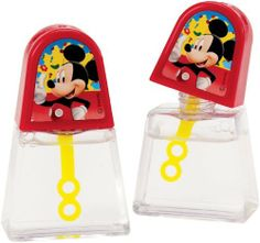 Mickey's Clubhouse Bubble Blowers (4 count) Party Accessory by Hallmark. $5.95