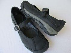 Keen women shoes sz 8 Black Leather  #KEEN #MaryJanes #Casual
