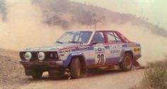 George Moschous with Nissan Datsun Violet PA10 160J