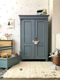 Josef - tutu et tata Big Girl Bedrooms, Girls Bedroom, Painted Wardrobe, Bedroom Cupboard Designs, Kids Decor, Home Decor, Baby Room Decor, Kid Spaces, Girl Room