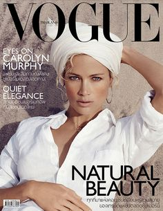 Carolyn Murphy, Vogue Thailand, June 2013, by Lincoln Pilcher
