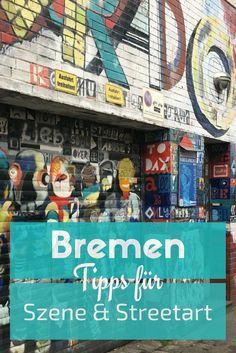 Bremen besticht mich seiner Vielseitigkeit. Kennst du schon das Viertel, welches voll mit Café️️s und Restaurants ist und eine Menge Street Art und alternativer Szene bietet?